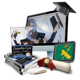 Pack de libros + curso avanzado. Guardia Civil. Escala de Cabos y Guardias