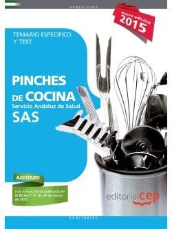 Temario oposiciones sas para pinche oposiciones y cursos - Test pinche de cocina ...