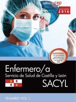 SACYL para Enfermeria temario vol i