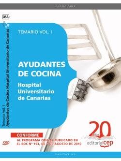 Temario oposiciones scs para ayudante de cocina for Ayudante cocina