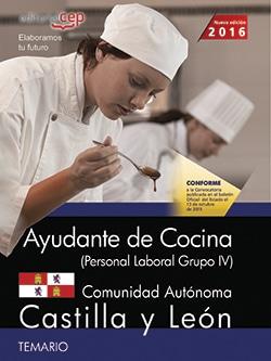 Ayudante de cocina archivos oposiciones y cursos for Cursos de ayudante de cocina